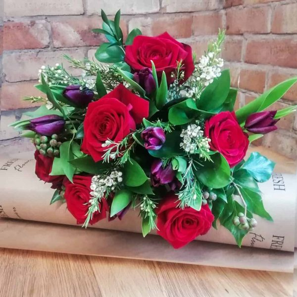 Sweetpea Macfie Chesterfield Florist Valentines Day Mixed Bouquet